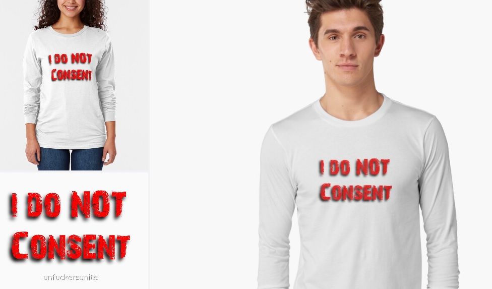 I do not consent site